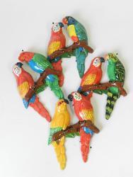 Magnet papoušek 15cm, 4dr