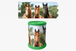 Stojan na tužky 3D koně 10,5cm