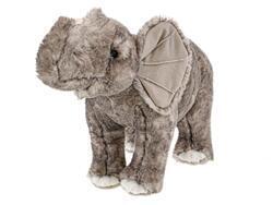 Slon plyšový 36cm stojící 0m+ v sáčku