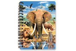 Zápisník A6 Safari 3D(24)