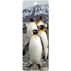 Záložka 3D 15,5x5,7cm - tučňáci