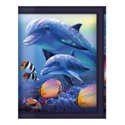Peněženka 3D - delfíni (5)