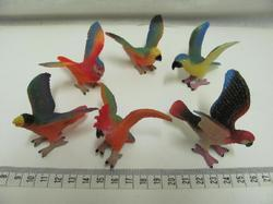 Papoušci set 6ks v sáčku(12)