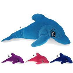 Delfín plyš 28cm, 4barvy (12)