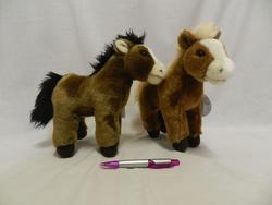 Kůň plyš 25cm
