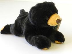 Medvěd ležící plyš 19cm