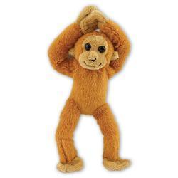 Orangutan plyš 21cm, suchý zip