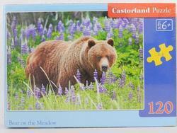 Puzzle medvěd na louce 120dílků