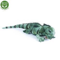 Leguán plyšopvý zelený,70cm