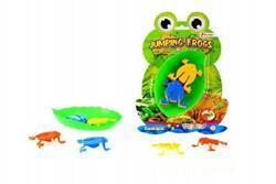 Skákající žáby společenská hra 17x23,5cm