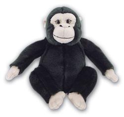 Šimpanz sedící, plyš 18cm
