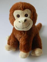 Opice plyš RE-PET 23cm (12ks/bal)