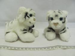 Tygr bílý plyš 12cm