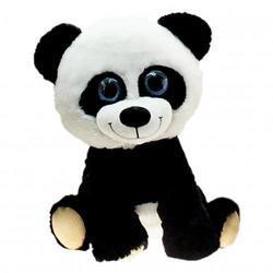 Panda sedící plyš, velké oči, 20cm(12ks/bal)