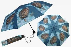 Deštník skládací 29cm - mořská želva (12)