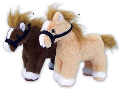 Kůň plyš 21cm, 2dr