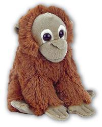 Orangutan sedící plyš 20cm