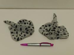 Rejnok puntíkatý, plyš 13cm(12)