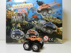 Auto monster truck klaun očkatý 7cm (12)