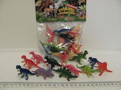 Dinosauři v sáčku 10ks, plast - 1
