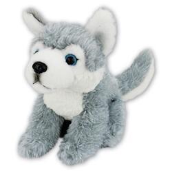 Pes husky plyš 19cm
