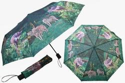 Deštník skládací 29cm - vlk (12)