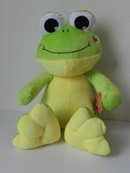 Žába sedící plyš 33cm