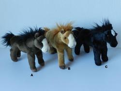 Kůň plyš 25cm, 3druhy