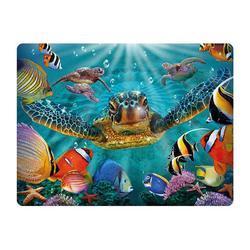 Pohlednice 3D 16cm - mořská želva (25)
