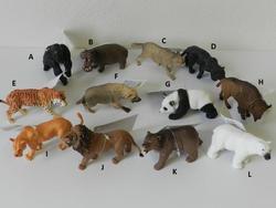 Zvířátko safari plast 11cm, 12druhů (12)