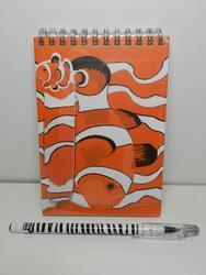 Notes ryba klaun+pero s magnetem, 20cm(12)