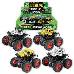 Monster truck safari 9cm, 4dr (8)