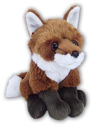 Liška sedící plyš 20cm
