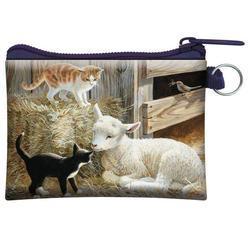 Kapsička 3D 11x8cm - kočky s ovečkou (5)