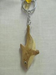 Přívěšek dřevo - delfín (6)