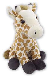 Žirafa sedící plyš 28cm