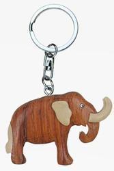 Přívěšek dřevo - mamut (6)