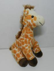 Žirafa sedící, plyš 26cm