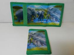 Peněženka 3D - sloni (5)