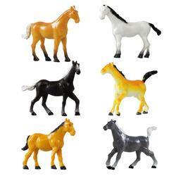 Kůň plast, 6dr (144)