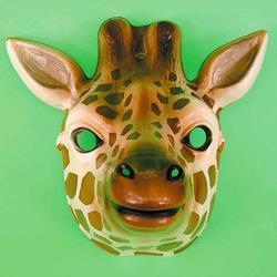 Maska oční žirafa plast