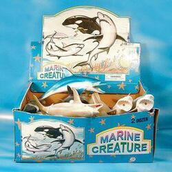 Zvířata mořská (žralok,delfín) pískací(24) - 1