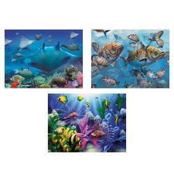 Obrázek 3D měnící 50x35cm - mořský svět