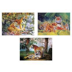 Obrázek 3D měnící 50x35cm - tygři