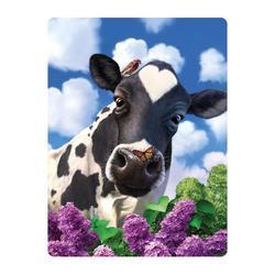 Pohlednice 3D 16cm - kravička (25)