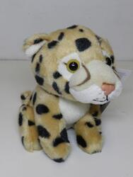 Gepard sedící, plyš 14cm(6) - 1
