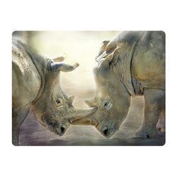 Pohlednice 3D 16cm - nosorožci (25)