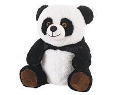 Panda plyšová 30cm sedící 0m+ v sáčku(12ks/bal)