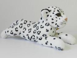 Sněžný leopard plazící, plyš 35cm (60/karton)