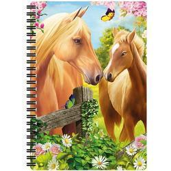 Notes 3D 14x21cm - koně